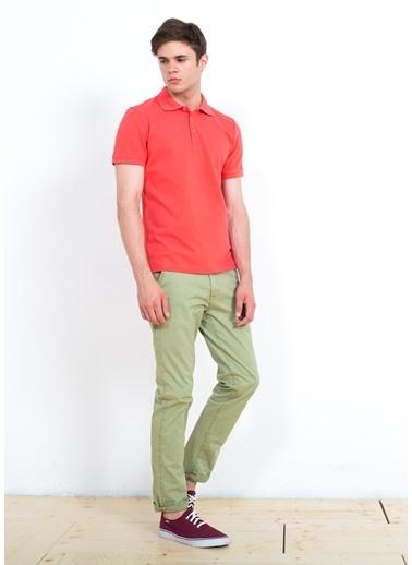Cazador Polo Yaka Tişört Kırmızı